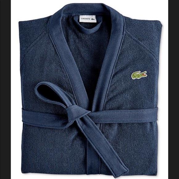 b49f27e234 LACOSTE Bath Robe